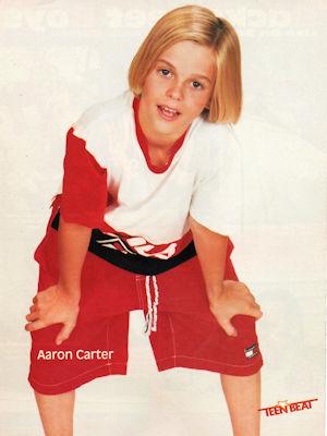 Arron Carter Teen Stars Forever Pinups
