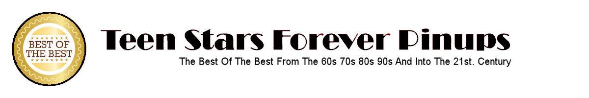 Teen Stars Forever Pinups Logo Header Christin Garrett Lathrop