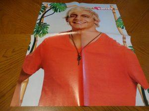 Ross Lynch orange shirt poster