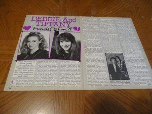 Debbie Gibson verse Tiffany
