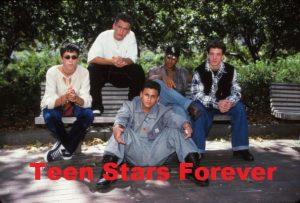 JC Chasez Tony Lucca Ricky Luna Matt Morris Dale Teen Stars Forever Pinups