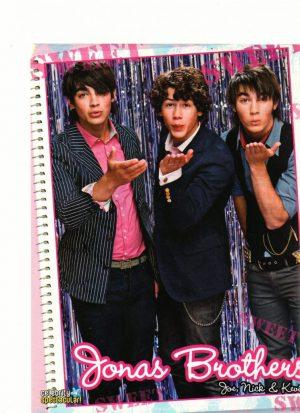 Jonas Brothers blowing kiss