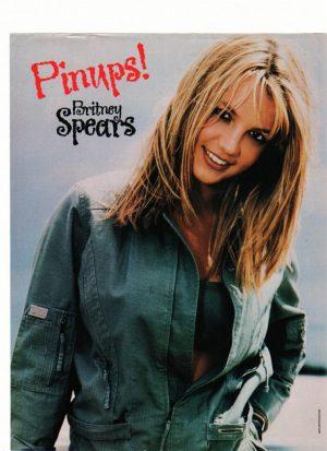 Britney Spears open shirt bra