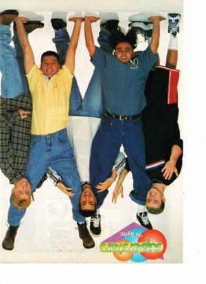 Nsync doing handstands Superstars