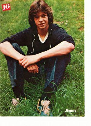 Jimmy Mcnichol in grass