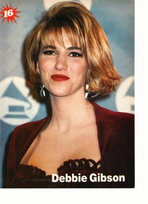 Debbie Gibson Grammy's Award