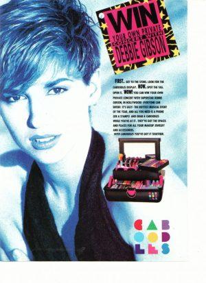 Debbie Gibson Caboodlls add