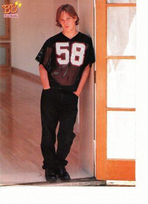 Brad Renfro 58 sport shirt semi shirtless