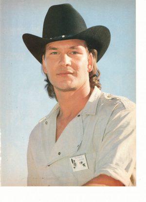 Patrick Swayze cowboy hat