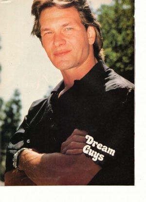 Patrick Swayze crossed arms Dream Guys magazine
