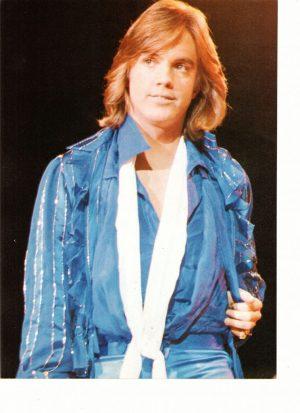 Shaun Cassidy blue shirt white scarf