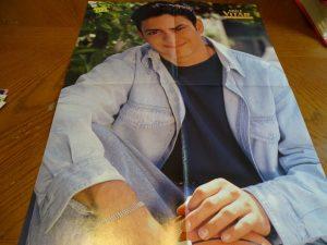 Mike Vitar jean shirt basketball BB magazine