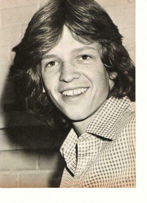 Jimmy Mcnichol Jimmy Baio teen magazine pinup clipping Teen Beat 1970's
