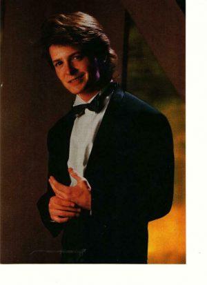 Michael J. Fox dressed up