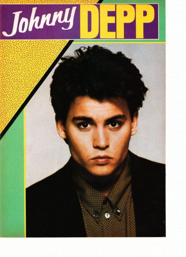 Johnny Depp close up teen machine
