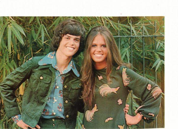 Donny Osmond teen magazine pinup 1970's jungle time Osmonds Tiger Beat