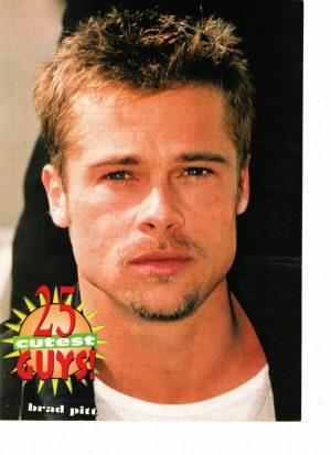 Brad Pitt 25 Cutest guys 16 magazine