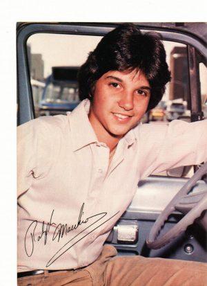 Ralph Macchio teen magazine pinup clipping 80's driving a car Superteen magazine