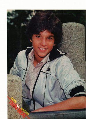 Ralph Macchio teen idol Teen Beat