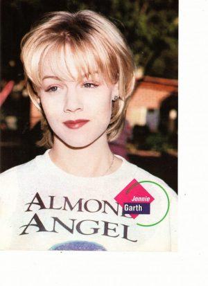 Jennie Garth Almone Angel shirt Tutti Frutti 90's