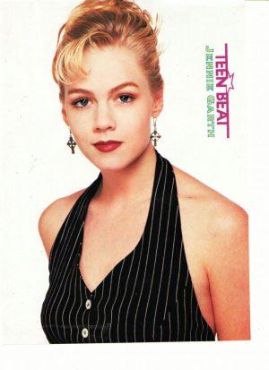Jennie Garth hair up Beverly Hills 90210