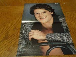 Rob Lowe Bruce Willis Cybill Shepherd teen magazine poster clipping Moonlighting