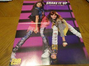Selena Gomez Zendaya Bella Thorne teen magazine poster clipping Shake it Up