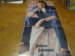 Julian Lennon dressed up