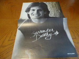 Ken Olandt Ricky Schroder teen magazine poster clipping Surrender Dorothy