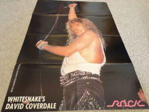 David Coverdale on stae Whitesnake