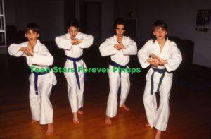 Moffatts barefoot karate class