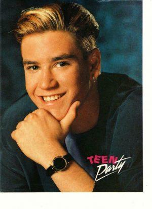 Mark Paul Gosselaar teen magazine pinup clipping Teen Dream Saved by the Bell
