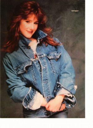 Tiffany wearing jean jacket