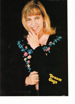 Debbie Gibson flower sweater