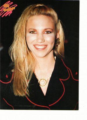 Debbie Gibson teen magazine pinup black suit Big Bopper