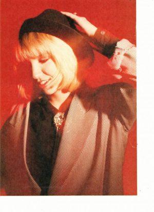 Debbie Gibson teen magazine pinup short hair