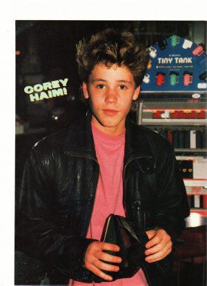 Corey Haim pink shirt
