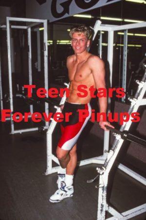 Jeremy Jordan shirtless spandex pants shirtless gym teen idol music star