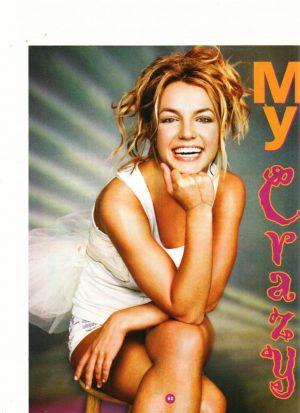 Britney Spears Paul Walker teen magazine pinup angel of mine M