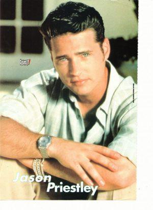 Jason Priestley teen magazine pinup couned magazine Beverly Hills 90210
