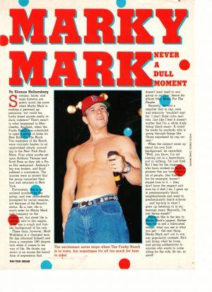 Mark Wahlberg shirtless nipple red hat