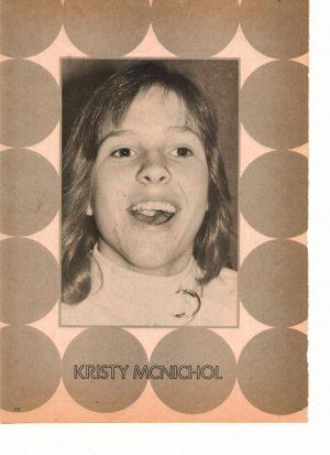 Kristy Mcnichol laughing