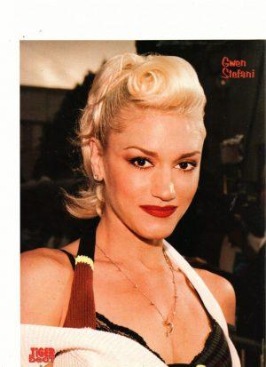 Gwen Stefani hair up