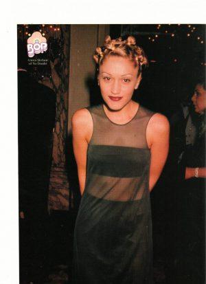 Gwen Stefani see through dress Bop