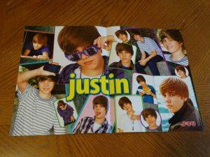 Justin Bieber photo poster