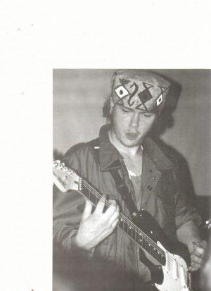 River Phoenix teen magazine pinup playing the guitar