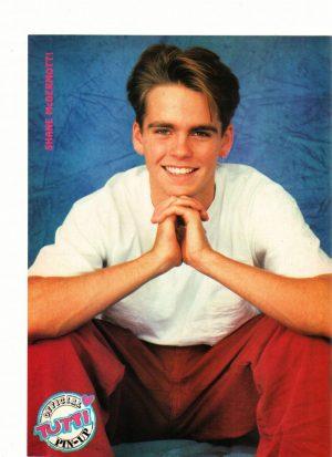 Shane Mcdermott Edward Furlong teen magazine pinup Tutti Frutti open legs