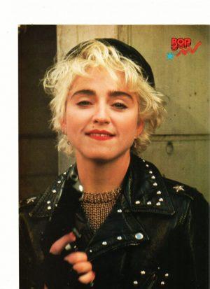 Madonna biting lip