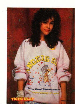 Alyssa Milano Angels sweatshirt tiger beat magazine