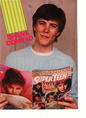 Shane Conrad superteen magazine